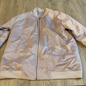 lululemon Chrome Bomber jacket
